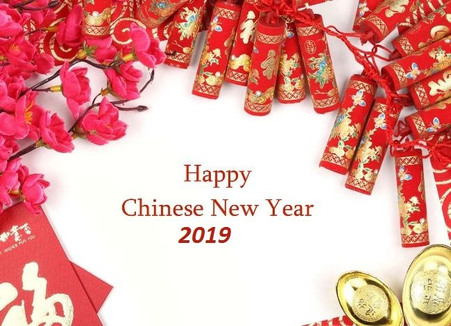 Happy Chinese new year 2019.